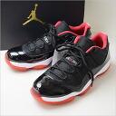 ■ NIKE (Nike) AIR JORDAN 11 RETRO LOW 'TRUE RED' black 28 cm ■ n