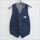 ■ DSQUARED2 (dsquared2) other switch 5 B vest Navy 44 ■ b05P30May15