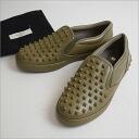 ■ VALENTINO (Valentino) rockstadsslippon sneakers khaki 41 ■ s