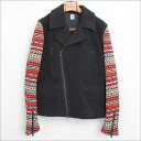 ■ s ' yte 12AW Nordic sleeve Bali jacket black L ■ a