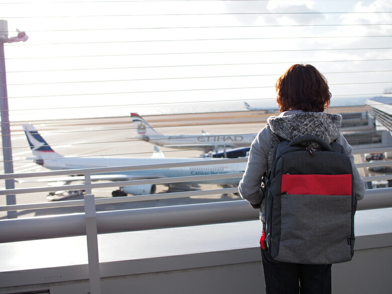 旅行に最適なリュックキャリーバッグ