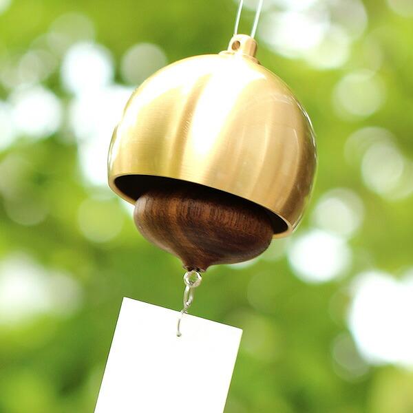 Hacoa×能作コラボ。どんぐりモチーフの真鍮と木の風鈴