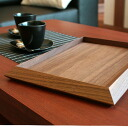 "■ custom tray with Walnut heavy feeling, forget a basin ""Wasurena"" / Scandinavian design"