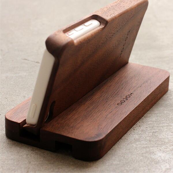 Hacoaの木製iPhone5c専用ケースにも対応
