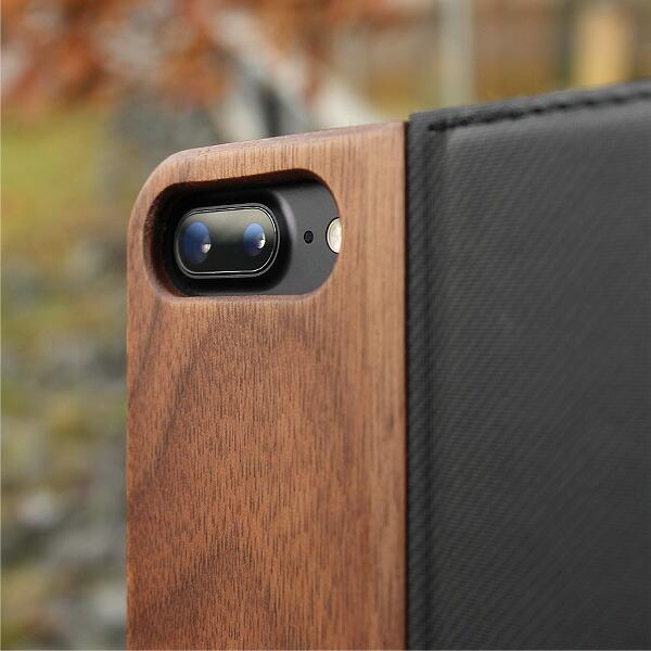 木製iPhone手帳カバー