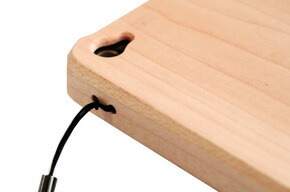 I hear the loss for straps to wooden iPhone4 case