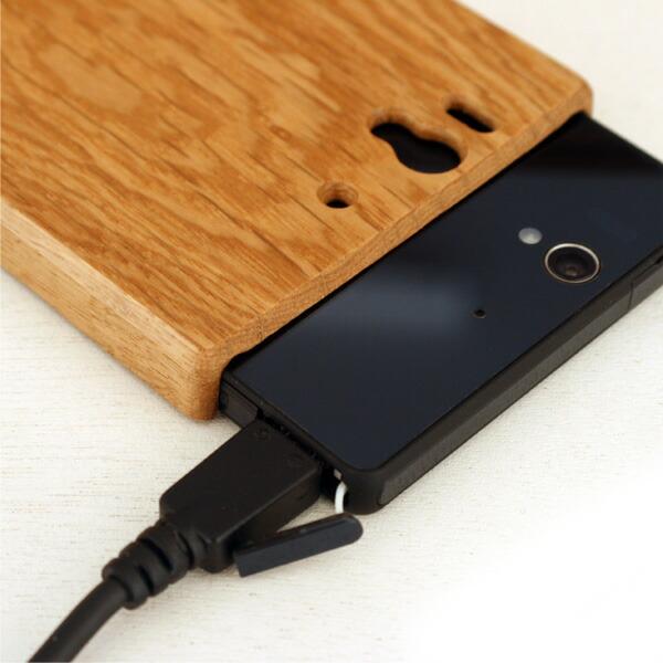 木製スマートフォン Xperia Z SO-02E