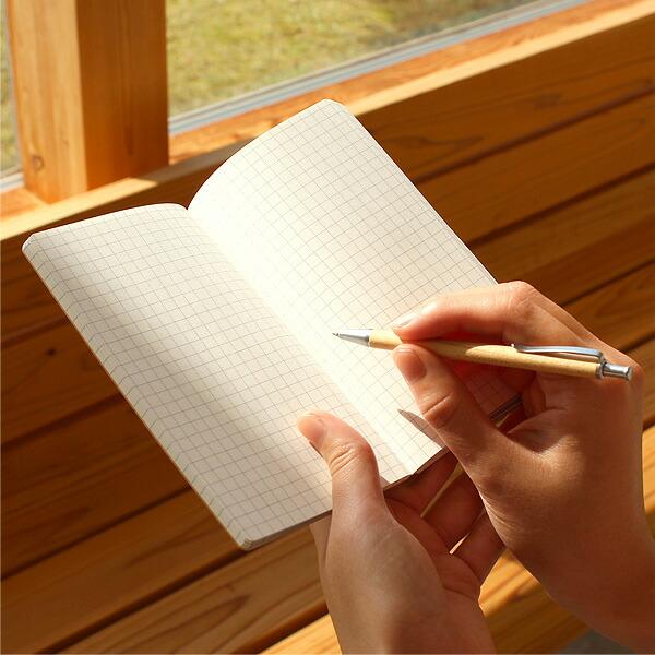 無地の木のノート・メモ帳