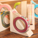 ■ masking tape cutter made of wood cut in a fashionable design see kide-kiru MT design gadgets / Scandinavian design