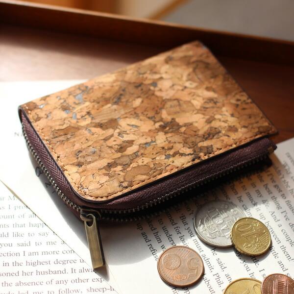 コルクレザーのコインカードケース「CONNIE Coin Card Case」