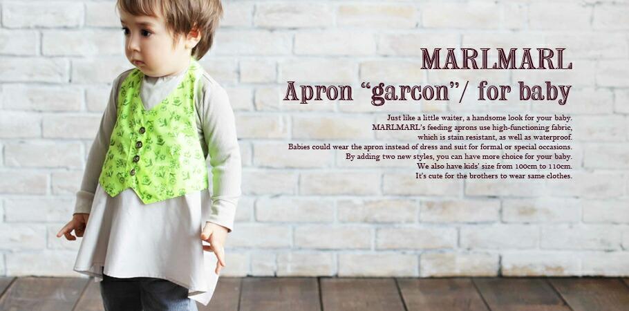 MARLMARL Apron garcon������ʥ٥ӡ���������80-90cm��