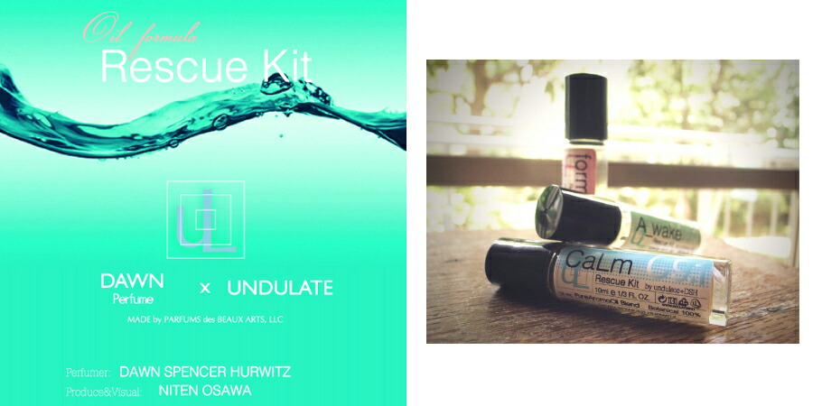 DAWN Perfume��UNDULATE��Oil formula Rescue Kit�ʥ쥹���塼���åȡ�10ml