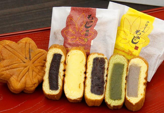 宫岛, 严岛神社, 红叶馒头,红叶馒头, 切羽好吃的东西,广岛,纪念品,糖