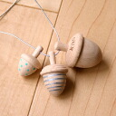 Kiko + (Kiko) dongri (Acorn) enjoy dressing up in Acorn necklace ♪ baby gifts and presents.