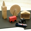 Kiko + (Kiko) machi London (city London, city, city, MATI) wooden toys educational toys baby gifts