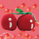 It is GOLF 】 cherry ball case smartly cutely