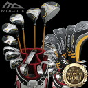 究めろ strength! MDGOLF super long + CBX bag 21 points men's Golf Club set fs3gm