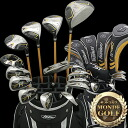 MD GOLF super long men's 21-point set of golf clubs for right