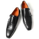 PERTINI ペルティニ W monk strap black 21661