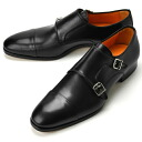 PERTINI ペルティニ men's Monk's strap boots black 21779