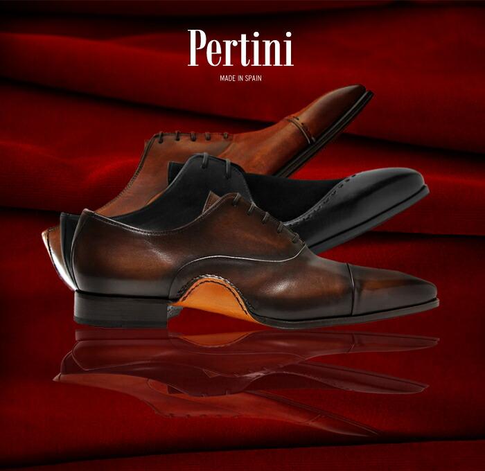 PERTINI(ペルティニ)、メンズビジネスシューズを扱うハンサムシューズブランド。