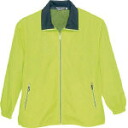 Casual mesh blouson yellow medium size