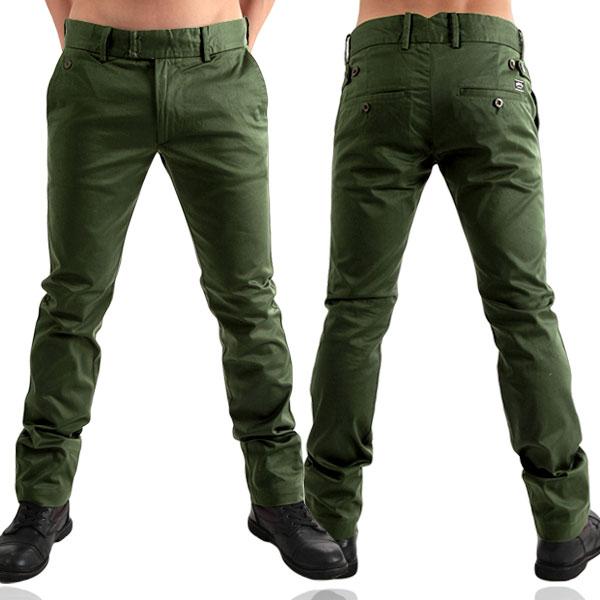 tight green pants - Pi Pants