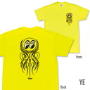 EYEBALL Pinstripe T-shirt Neon
