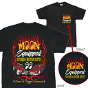 MOON Equipped hot rod custom supply T shirts