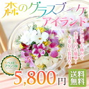 Hot topic in the introduction of TV! Management not required! Forest glass bouquet ' island' ベストプランツ ' get happy prize winners ' exceeded both flower preser decorate leaning against the maintenance-free floral birthday, sympathy, wedding celebration BFI