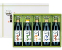 IGA Yue natural brewing sauce IGA Yue Honjo natural collection seasoning assortment 500ml×5 Pack laminated bonito soy sauce with