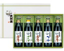 IGA Yue natural brewing sauce IGA Yue Honjo natural collection seasoning assortment 500ml×5 Pack laminated