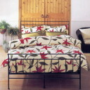 Futon cover double size 145*215cm with sybilla シビラ FLORES Flores floor