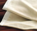 Highest peak Kyoto Nishikawa white baby cashmere blanket single long size of the excellent series cashmere