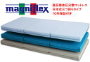 Body pressure dispersion mattress born in three Manes flextime mesh wing queen size Japan-limited products fold type Italy