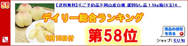 デイリー総合ランキング58位獲得!