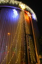 420 Sphere; LED drape lights top bulb color LED Christmas lights