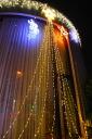 420 Sphere; LED drape lights top bulb color LED Christmas lights