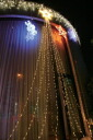 Drape lights top 3 m silver code white 210 bulb LED with controller variable (anti-rain) LED Christmas lights