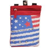 国旗柄シザーバッグ(USA)