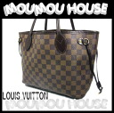 LOUIS VUITTON ■ Louis Vuitton ■ Damier ■ tote bag neverfull PM ■ even ■ N51109 ■ ladies ♪ Vuitton Louis Vuitton LV fs04gm
