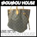 LOUIS VUITTON ■ Louis Vuitton ■ Monogram ■ neverfull MM ■ Tote ■ M40156 ■ ladies ♪ Vuitton Louis Vuitton Louis Vuitton Vuitton Tote Bag LV
