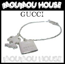 GUCCI ■ Gucci ■ square plate & Palm tree charm ■ bracelet Silver 925 ■ 223978 ■ ladies ♪ bracelet fs04gm