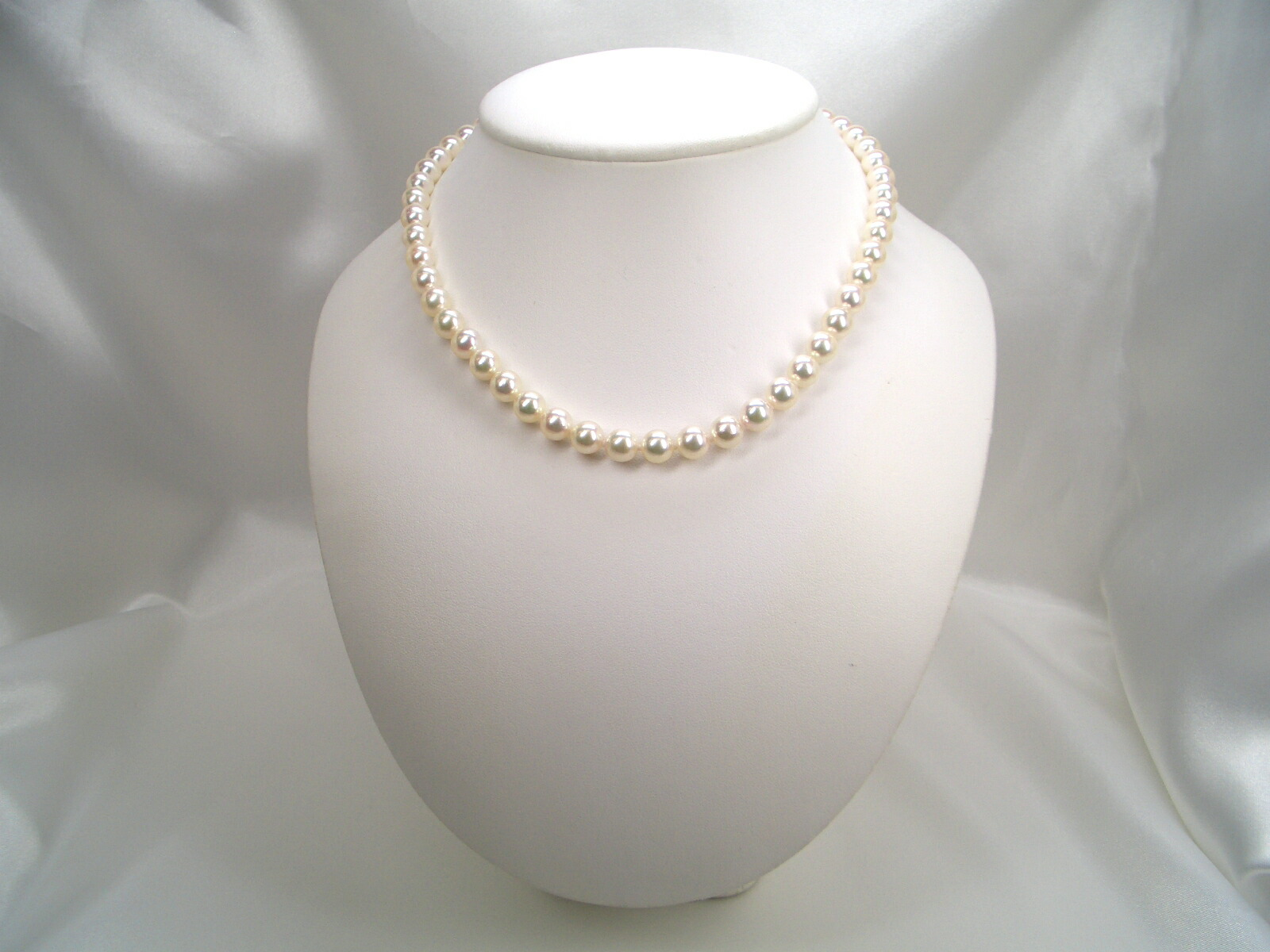花珠真珠ネックレス 6.5〜7.0mm