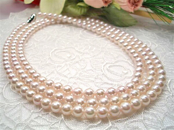 真珠,ロングネックレス