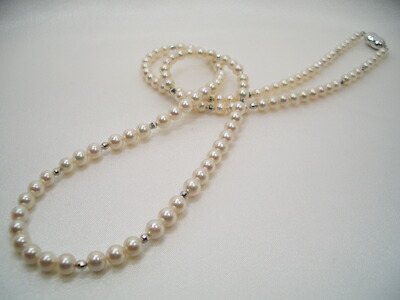 アコヤ真珠ネックレスの留め具