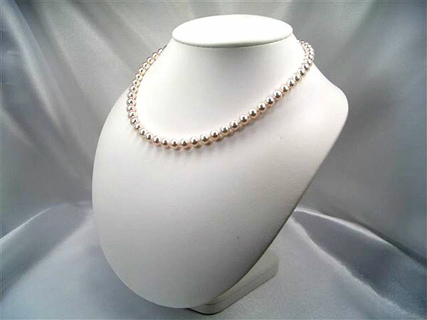 約6.5〜7.0mm花珠真珠ネックレス