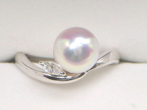 極上の花珠真珠リング