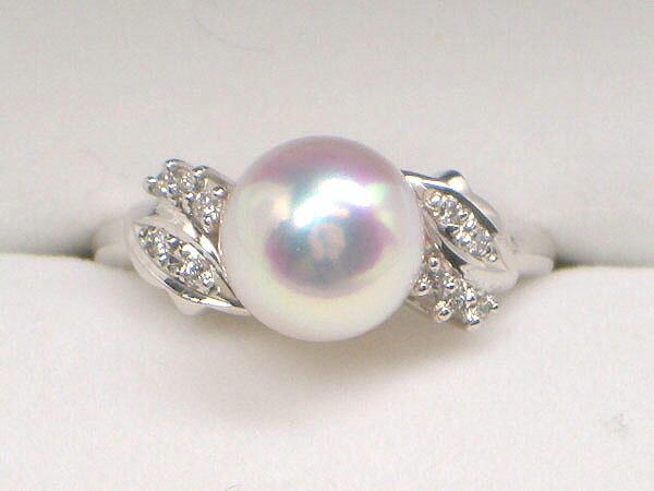最上質の花珠真珠リング