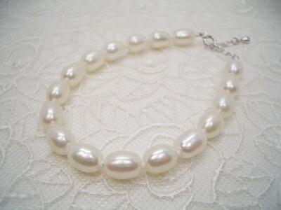 淡水真珠ブレスレット